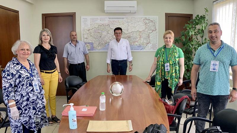 Συνάντηση Πέτροβιτς με το Δ.Σ. του Συλλόγου Τριτέκνων Νομού Έβρου