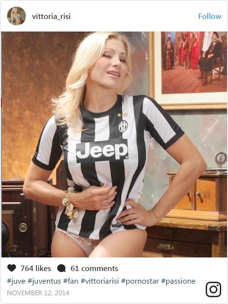 Vittoria Risi Fans Juventus