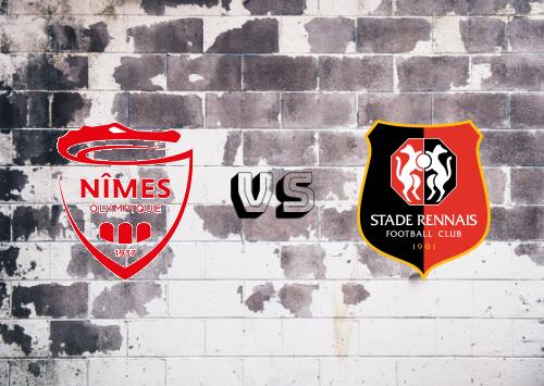 Nîmes vs Rennes  Resumen