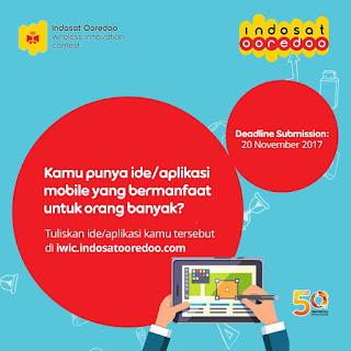 Indosat IWIC Lomba membuat ide aplikasi dan Hackaton