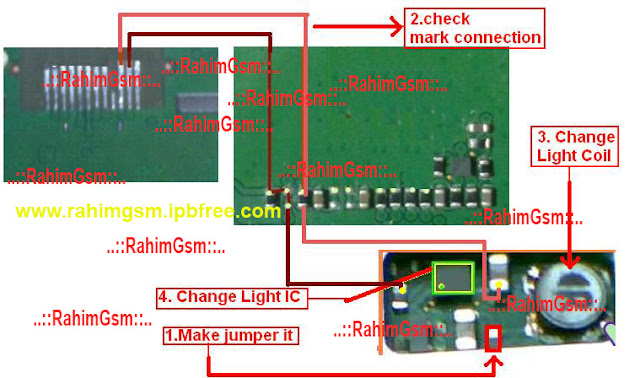 1202 Lcd solution No light,phone white blank,cann`t power on it`s problem by lcd ways... Below some images for No light,1202 phone white blank. Please analize by damage in your handle phone problem.