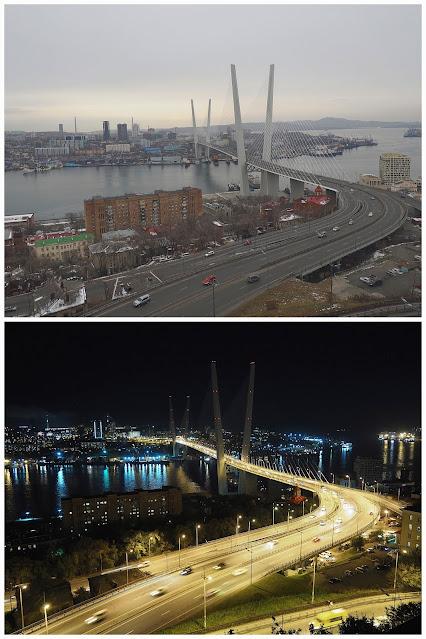 """Владивосток, вид со смотровой площадки """"Орлиная сопка"""""""