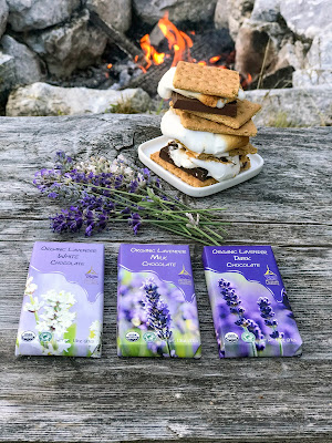Lavender Chocolate S'Mores Recipe