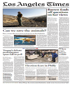 losangeles, los angeles times magazine 14 October 2020, los angeles times magazine, los angeles news, free pdf magazine download.