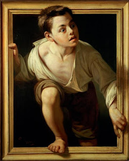 Escaping Criticism 1874 - Pere Borrell del Caso 1835-1910