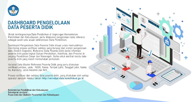 Sistem data pendidikan terintegrasi dari Kemdikbud