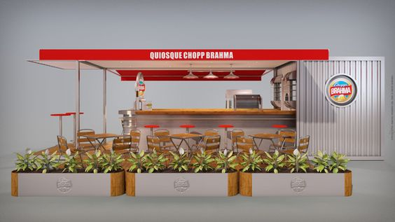 Container cafe concept
