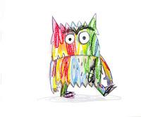 el monstruo de colores no se aclara con sus sentimientos