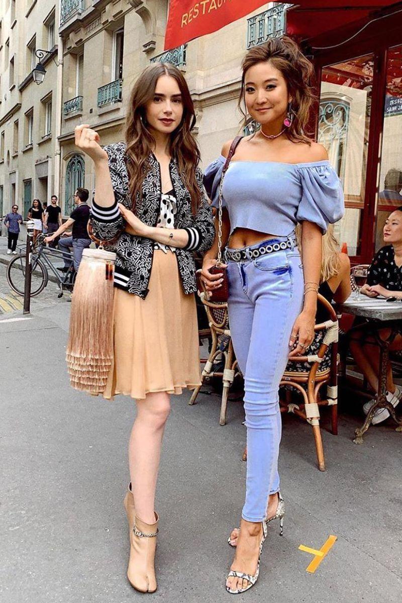 Emily Em Paris melhores looks