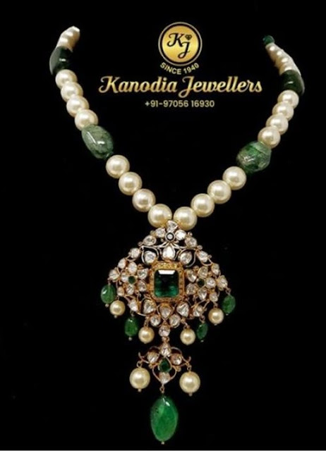 South Pearls Chain by Kanodia Jewellers