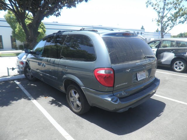 2005 Dodge Grand Caravan before collision repairs at Almost Everything Autobody