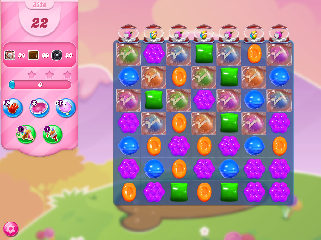 Candy Crush Saga level 3370