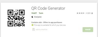 QR Code Generator Android App