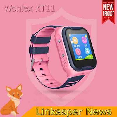 Đồng hồ định vị cho trẻ em có thể nghe gọi video Wonlex KT11