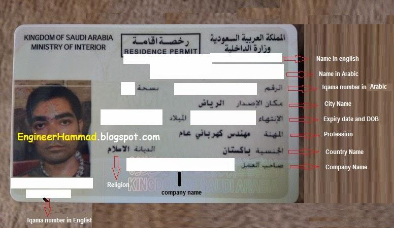 Procedure To Apply For First Saudi Arabia Iqama