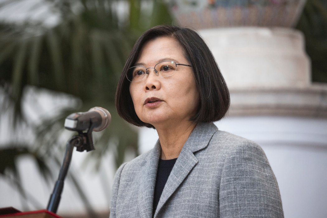 Tsai Ing-wen. File photo: Office of the President of Taiwan, via Flickr.