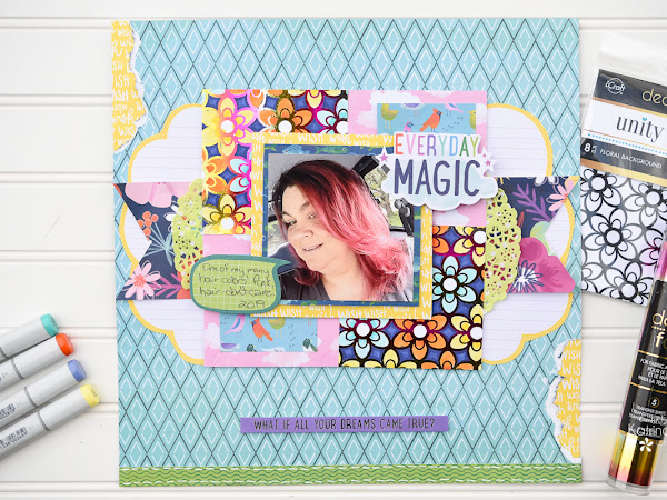 Everyday Magic with NEW Unity Stamp Co. and Therm O Web Toner Card Fronts