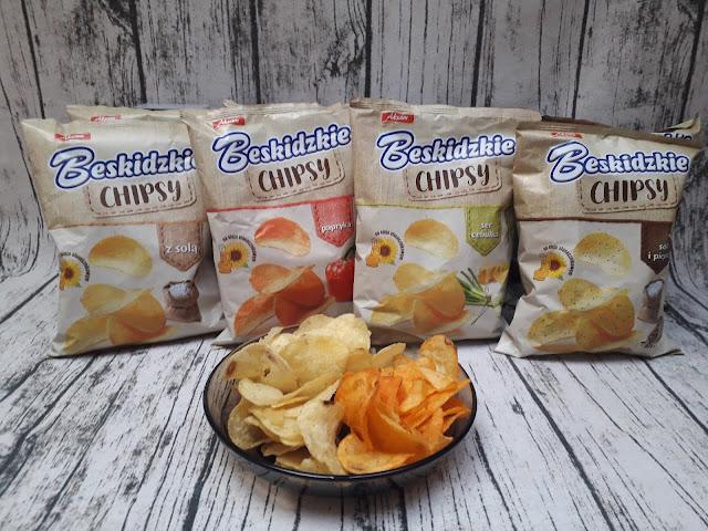 Zdrowe chipsy Beskidzkie