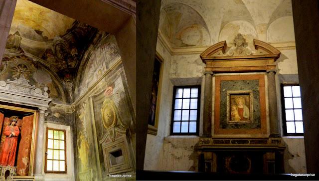 Altares da Basílica de Sant'Apollinare Nuovo, Ravena, Itália