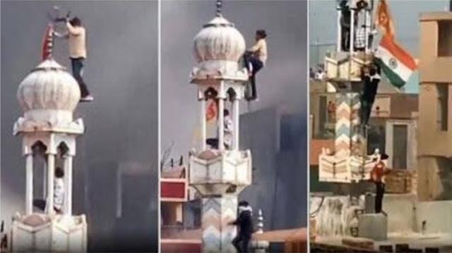 Hasil gambar untuk Jadi Target Amuk Massa, Masjid Di India Dibakar