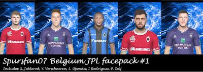 PES 2019 Facepack JPL by Spursfan07