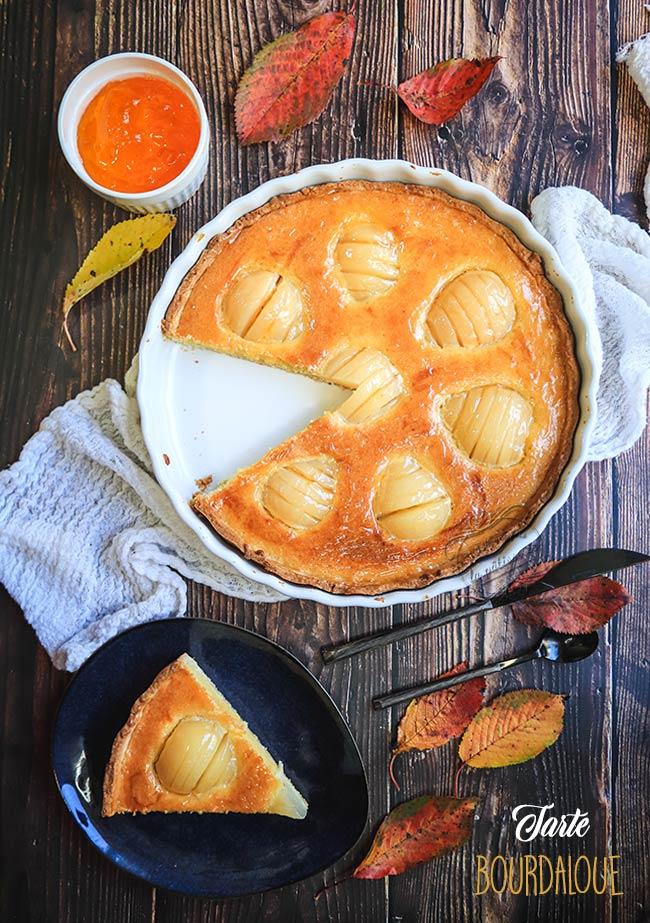 tarte bourdaloue recette
