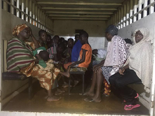 , Police rescue 13 Children, 15 Adults chained in a house in Lagos State, Latest Nigeria News, Daily Devotionals & Celebrity Gossips - Chidispalace