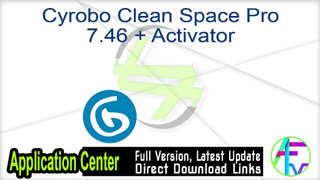 Cyrobo Clean Space Pro 7.46 + Activator