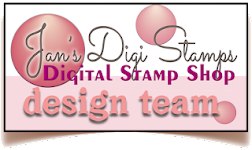 Designing for Jan's Digi Stamps