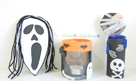 3 Ideas Halloween con reciclaje