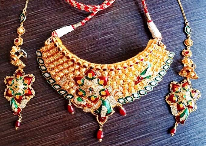 Aad Necklace Design Earring Gold | Fdbnj