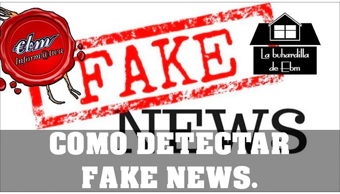 COMO DETECTAR FAKE NEWS