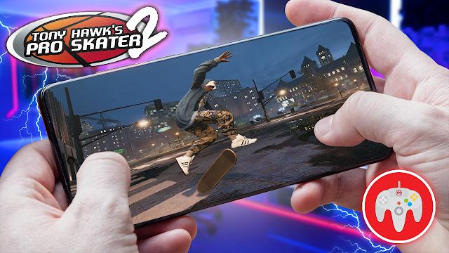 Tony Hawk's Pro Skater 2 Para Teléfonos Android (ROM N64)