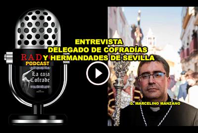 Marcelino Manzano, parroco de San Vicente y delegado de cofradias y hermandades de la archidiocesis de sevilla