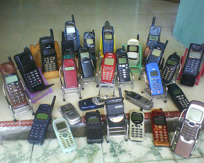 Beberapa Merek HANDPHONE Jadul Yang Bikin Flashback