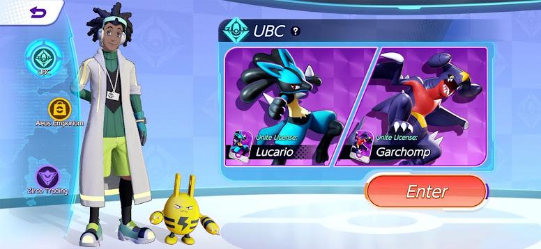 Pokémon Unite - Pokémon License