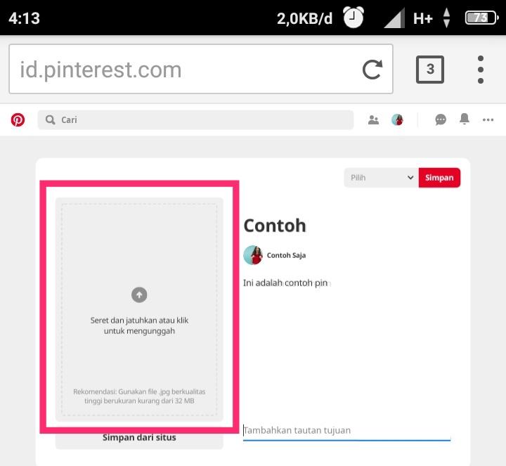 Trik Pinterest