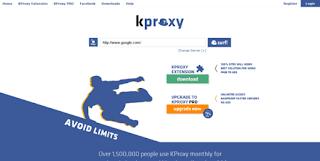 5 Situs Web Proxy Gratis Terbaik