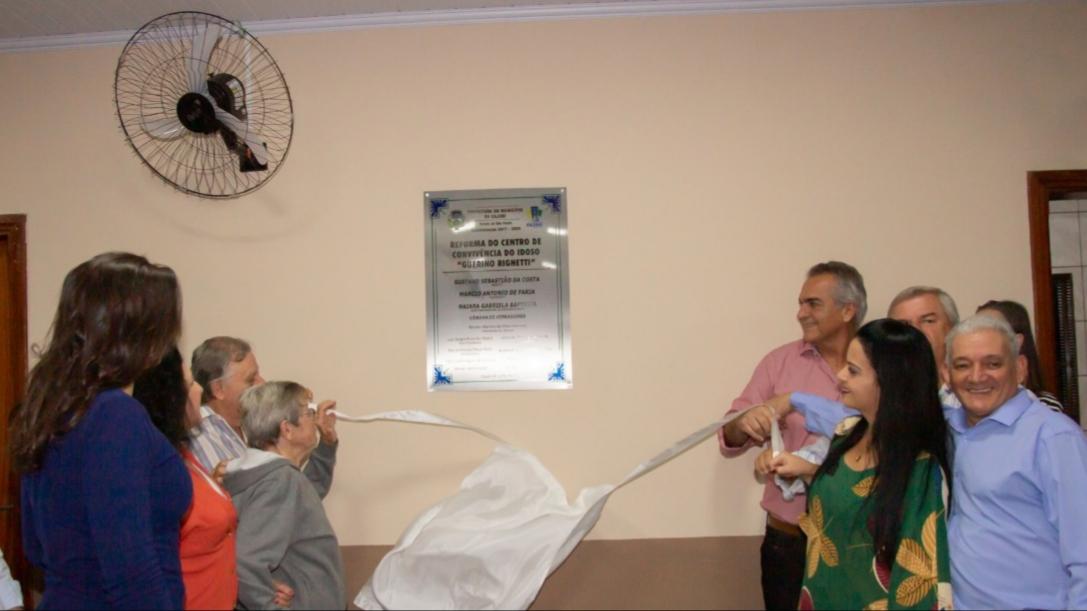 Centro de Convivência do Idoso é reinaugurado em Cajobi