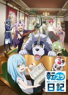 الحلقة 1 من انمي Tensura Nikki: Tensei shitara Slime Datta Ken مترجم