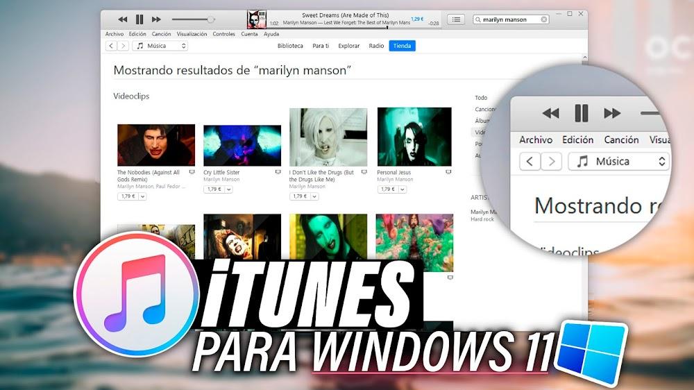 Descargar iTunes Windows 11