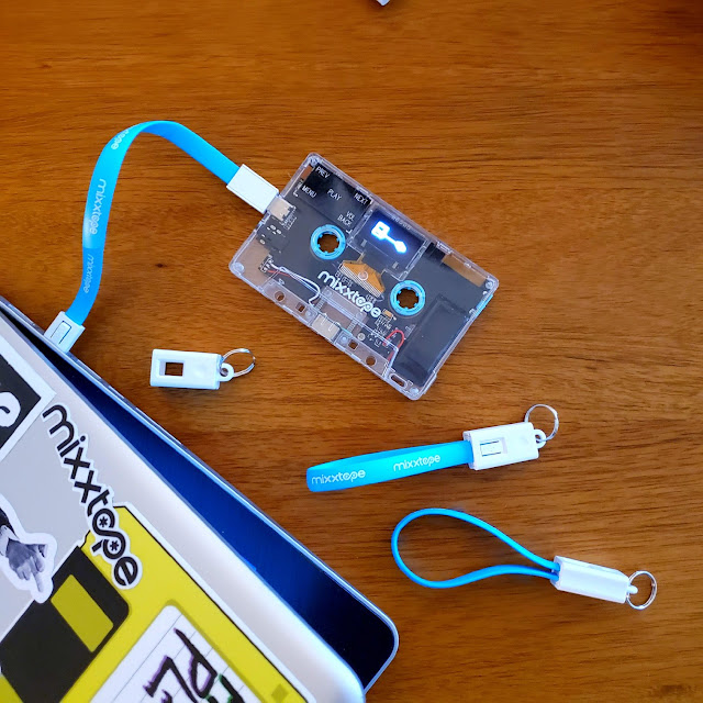 MIXXTAPE Remasters the Cassette as a Digital Music Player