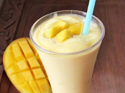 Mangga Milk Shake Resepi dan Cara Buat