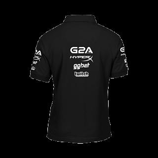 Baju Gaming - Kaos Polo Shirt Navi Logo 2017