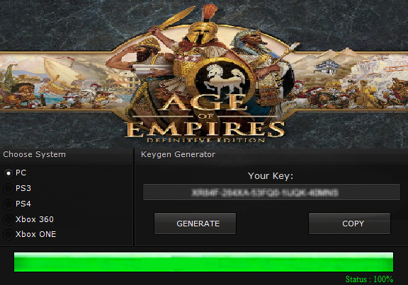 keygen age of empires