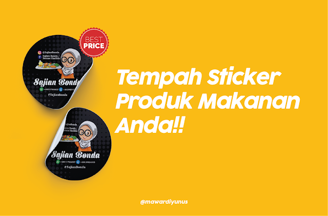 design sticker murah