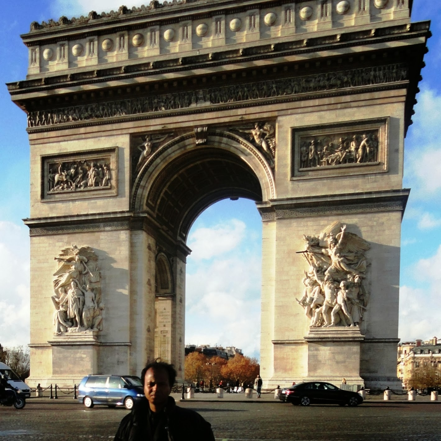 In Front of Gate of Paris