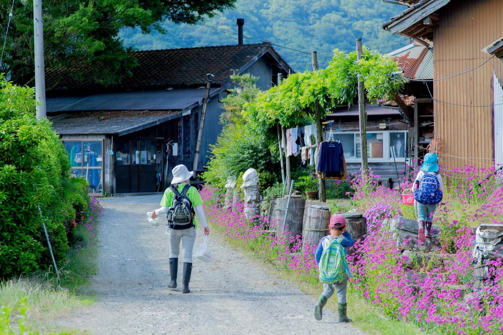 Tsuwano, where we spent the first three days. Photo credit: ChangemakerXchange
