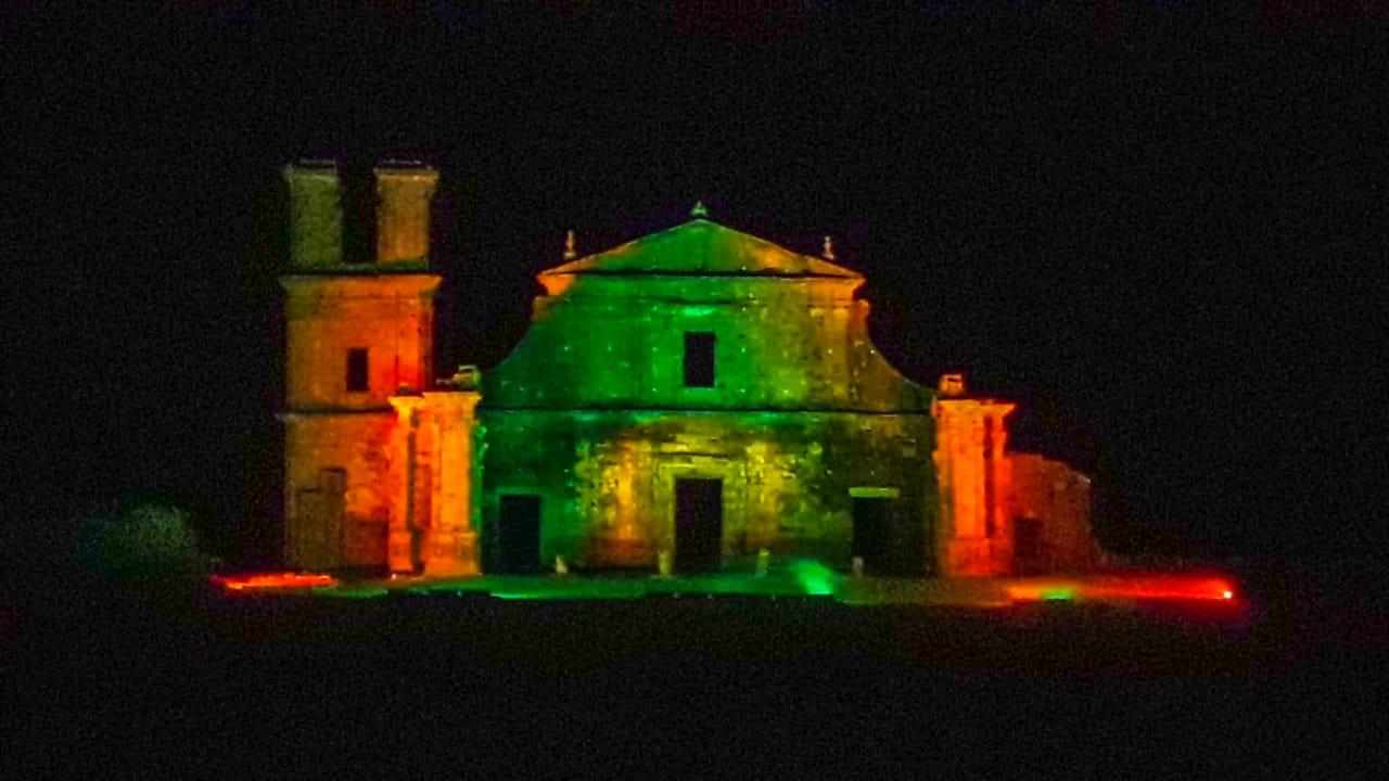 Espetáculo de Som e Luz em São Miguel das Missões