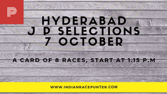 Hyderabad Jackpot Selections 7 October